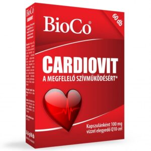 BioCo Cardiovit 100mg Q10 kapszula - 60db