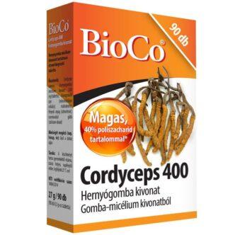 BioCo Cordyceps 400 - Hernyógomba kivonat tabletta - 90db