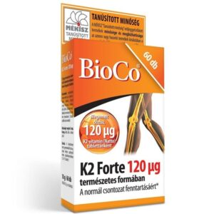 BioCo K2 Forte 120µg tabletta - 60db