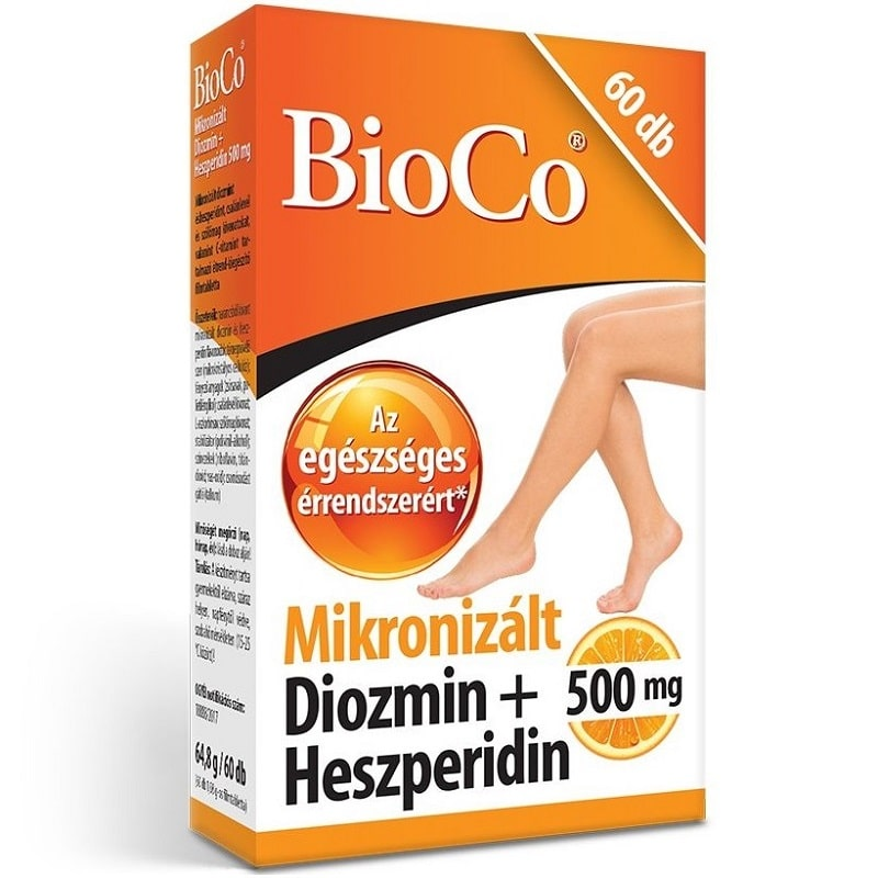 BioCo Mikronizált Diozmin + Heszperidin filmtabletta - 60db