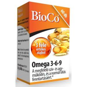 BioCo Omega 3-6-9 kapszula - 60db