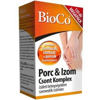 BioCo Porc & Izom Csont Komplex MegaPack tabletta - 120db