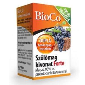 BioCo Szőlőmag kivonat Forte Megapack - 100db