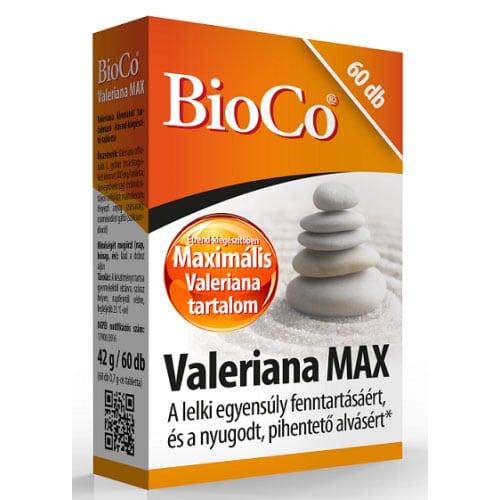 BioCo Valeriana Max tabletta - 60db