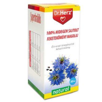 Dr. Herz Hidegen sajtolt Feketekömény magolaj - 50ml