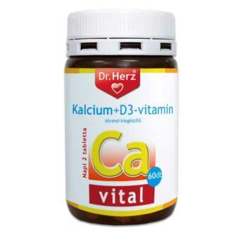 Dr. Herz Kalcium + D3-vitamin tabletta - 60db