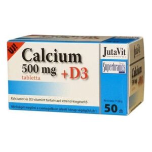Jutavit Calcium+D3-vitamin tabletta - 50db