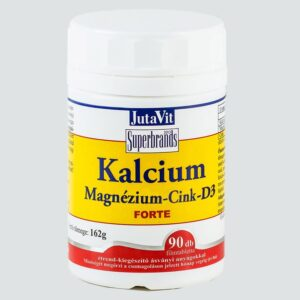 Jutavit Kalcium-Magnézium-Cink-D3 tabletta - 90db