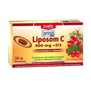 Jutavit Liposom C-vitamin 400mg tabletta - 30db