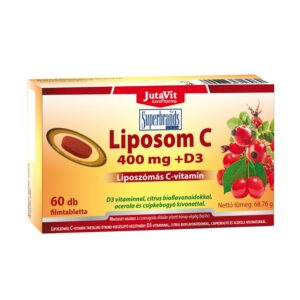 Jutavit Liposom C-vitamin 400mg tabletta - 60db