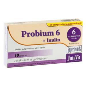 Jutavit Probium 6 + Inulin kapszula - 30db