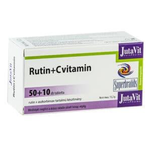 Jutavit Rutin + C-vitamin tabletta - 50+10db