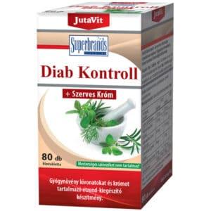 Jutavit Diab kontroll tabletta - 80db