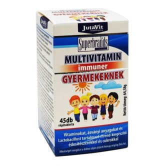 Jutavit Multivitamin gyermekeknek rágótabletta - 45db