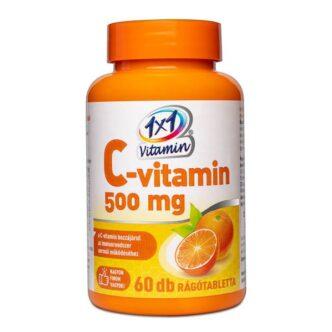 1x1 Vitamin C-vitamin 500mg rágótabletta - 60db