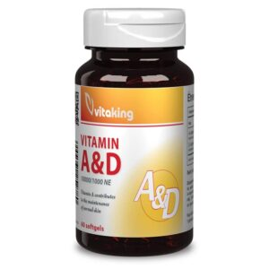 Vitaking A&D vitamin kapszula - 60 db