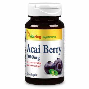 Vitaking Acai Berry kapszula - 60db