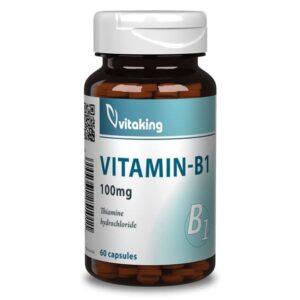 Vitaking B1-vitamin kapszula - 60 db