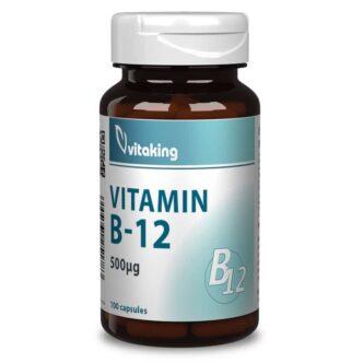 Vitaking B12 vitamin kapszula - 100 db