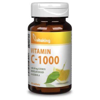 Vitaking C-vitamin 1000mg tabletta - 30db