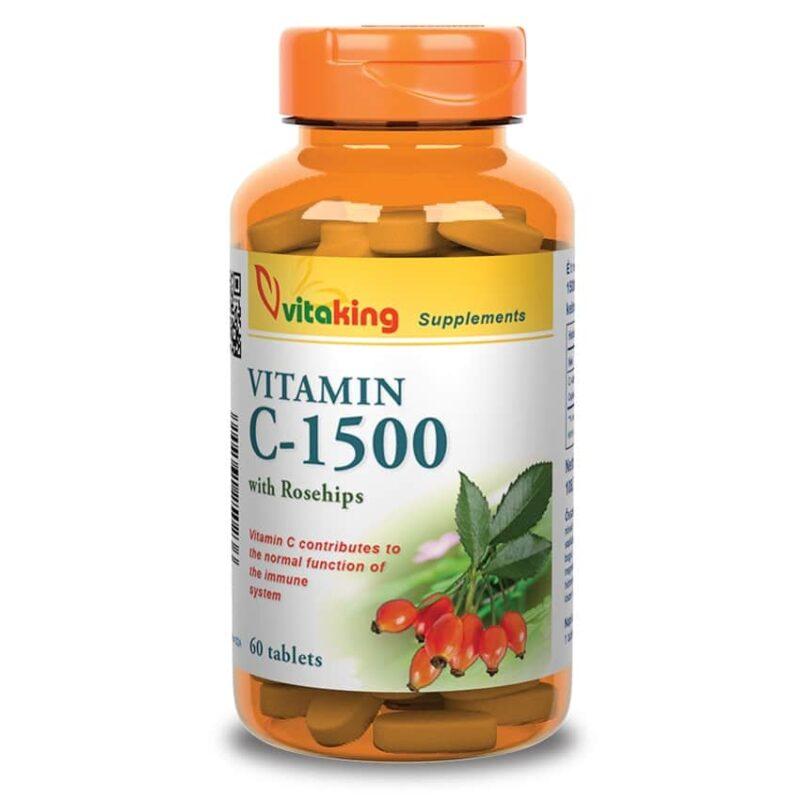 Vitaking C-vitamin 1500mg tabletta - 60 db