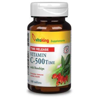 Vitaking 500mg TR C-vitamin tabletta - 100 db