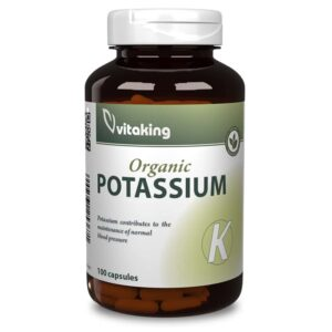 Vitaking Kálium kapszula - 100db