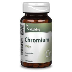 Vitaking Króm pikolinát tabletta - 100db