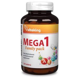 Vitaking Mega-1 Family Multivitamin - 120db