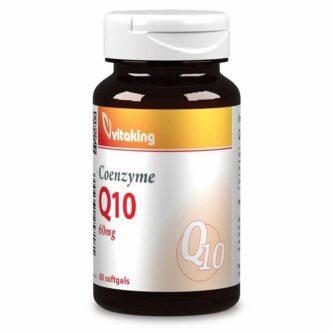 Vitaking Q10 koenzim 60mg kapszula - 60db