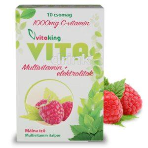 Vitaking VitaDrink italpor - 10 tasak