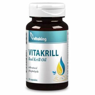 Vitaking VitaKrill rákolaj 495mg gélkapszula - 30db