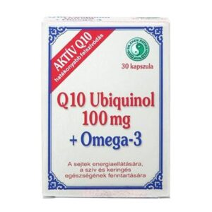 Dr Chen Q10 Ubiquinol 100mg Omega-3 kapszula - 30db