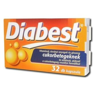 InnoPharm Diabest kapszula - 32db