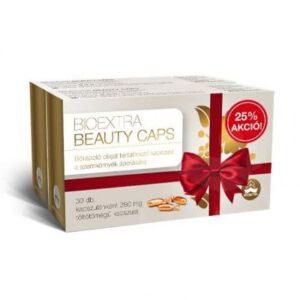 Bioextra Beauty Caps bőrápoló kapszula 2x30-as csomag - 2x30dbBioextra Beauty Caps bőrápoló kapszula 2x30-as csomag - 2x30db