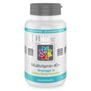 Bioheal Multivitamin 40+ filmtabletta - 70db