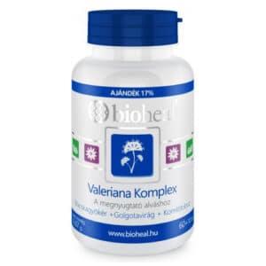 Bioheal Valeriana Komplex tabletta - 70db