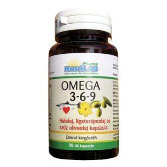 Nutrilab Omega 3-6-9 kapszula - 90db