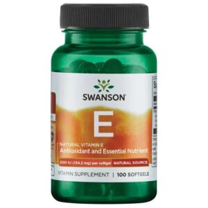 Swanson Ex-200NE E-vitamin kapszula - 100db