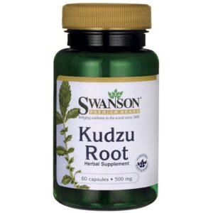 Swanson Kudzu Root (Kudzu gyökér) 500mg kapszula - 60db