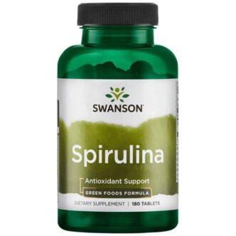 Swanson Spirulina alga tabletta - 180db