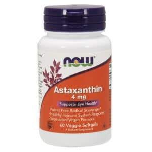 Now Astaxanthin 4mg kapszula - 60db