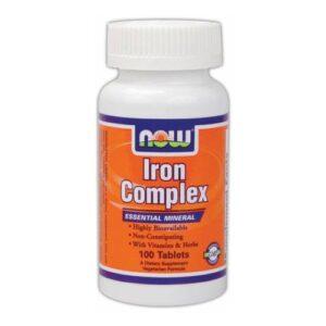 Now Iron Complex kapszula - 100db