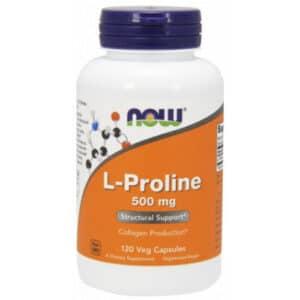 Now L-Proline 500mg kapszula - 120db