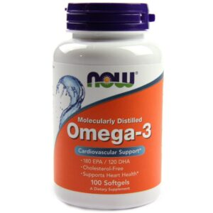 Now Omega-3 lágyzselatin kapszula - 100db