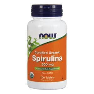 Now Spirulina alga tabletta - 100db
