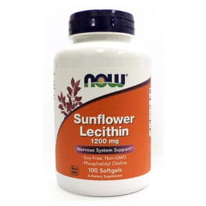 Now Sunflower lecithin kapszula - 100db