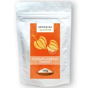 Organiqa Bio nyers Ashwagandha por - 125g
