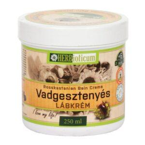 Herbioticum vadgesztenyés lábkrém - 250ml