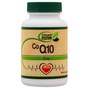Vitamin Station Co Q10 20mg kapszula - 90db
